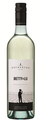 Bremerton Betty & Lu Sauvignon Blanc 2019 (12x 750mL). SA