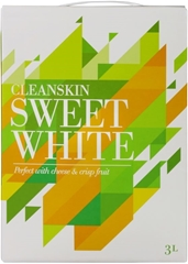 Cleanskin Sweet White Cask (4 x 3L) South Africa