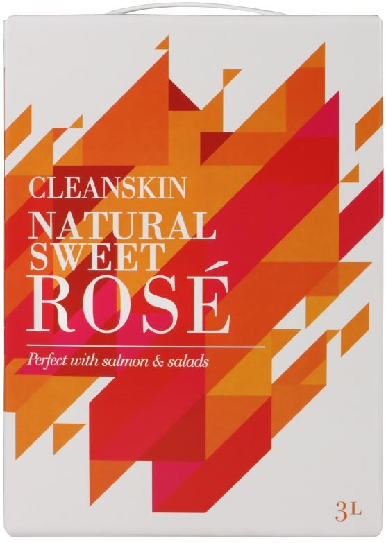 Plt of Cleanskin Rose Cask (240 x 3L) South Africa
