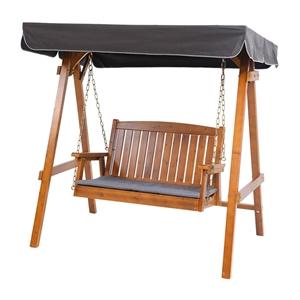Gardeon Swing Chair Wooden Garden Bench