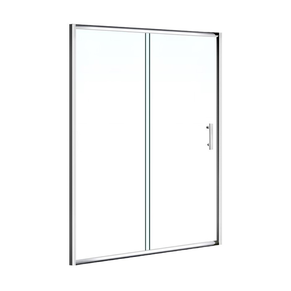 Cefito 1200mm Wall to Wall Shower Screen