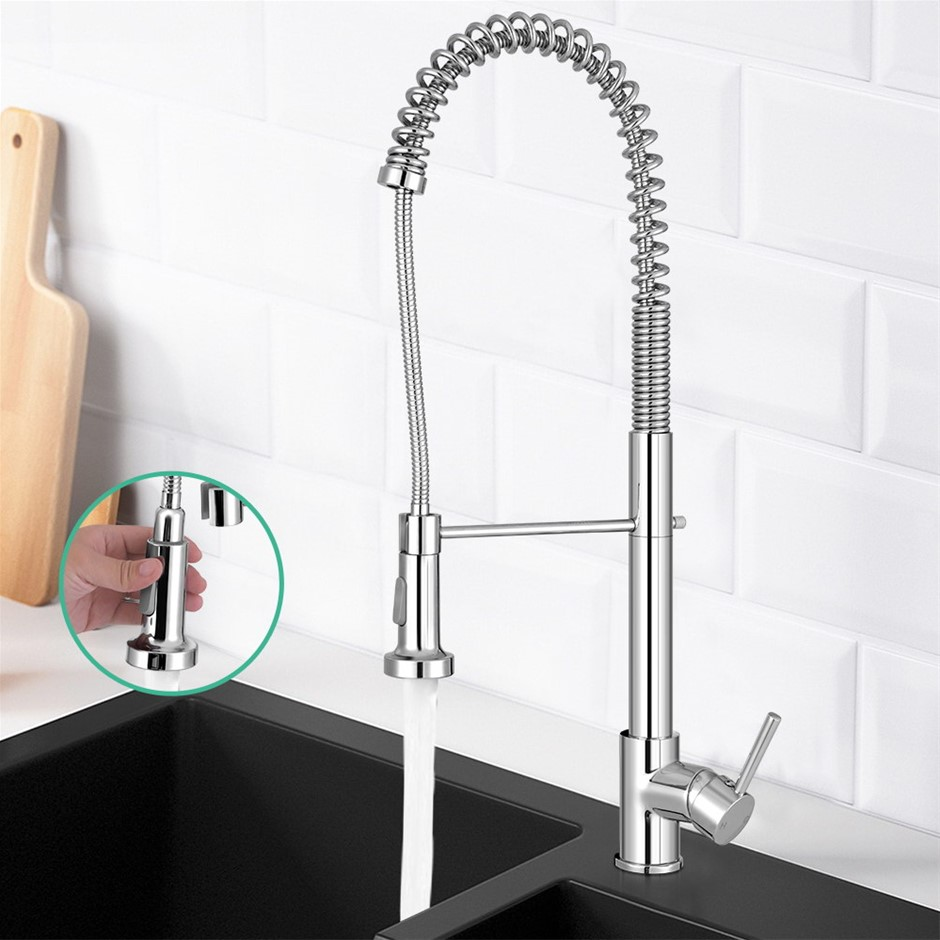 Cefito Kitchen Tap Mixer Faucet Taps Pull Out Sink Brass Watermark