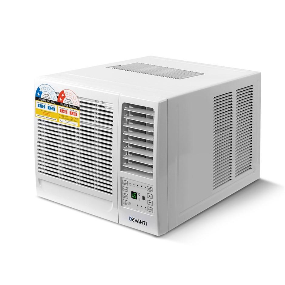 Devanti Window Wall Box Air Conditioner 4.1kW - White