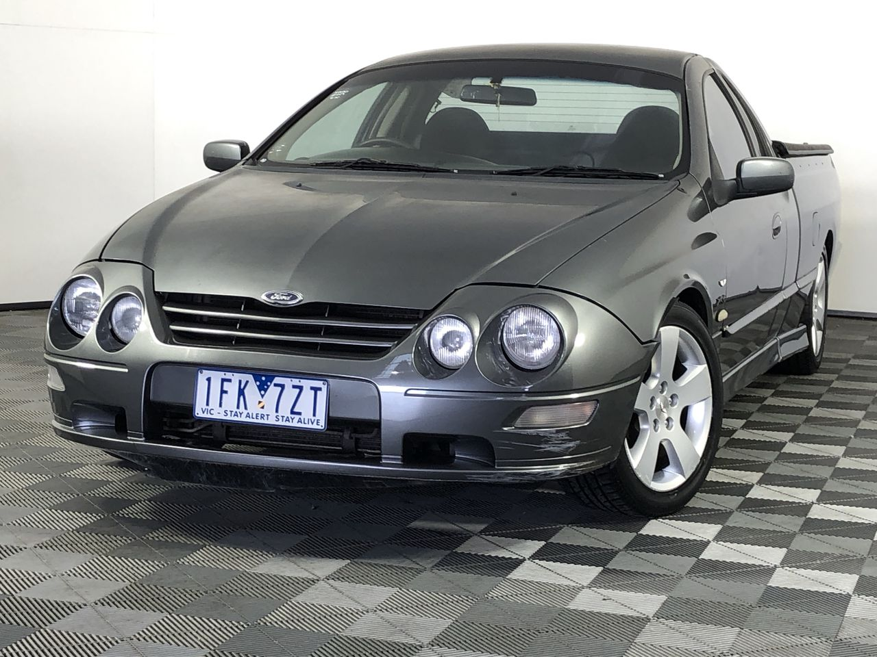 2002 Ford Falcon XR6 VCT PURSUIT AUII Automatic Ute