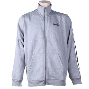 PUMA Men`s Tape Fleece Jacket, Size XL,