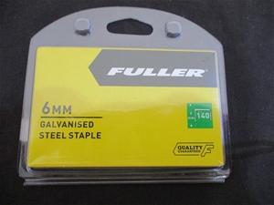 Carton of 6mm Steel Staples