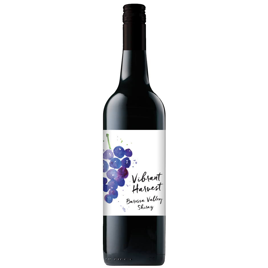 Vibrant Harvest Barossa Valley Shiraz 2016 (12x 750mL)