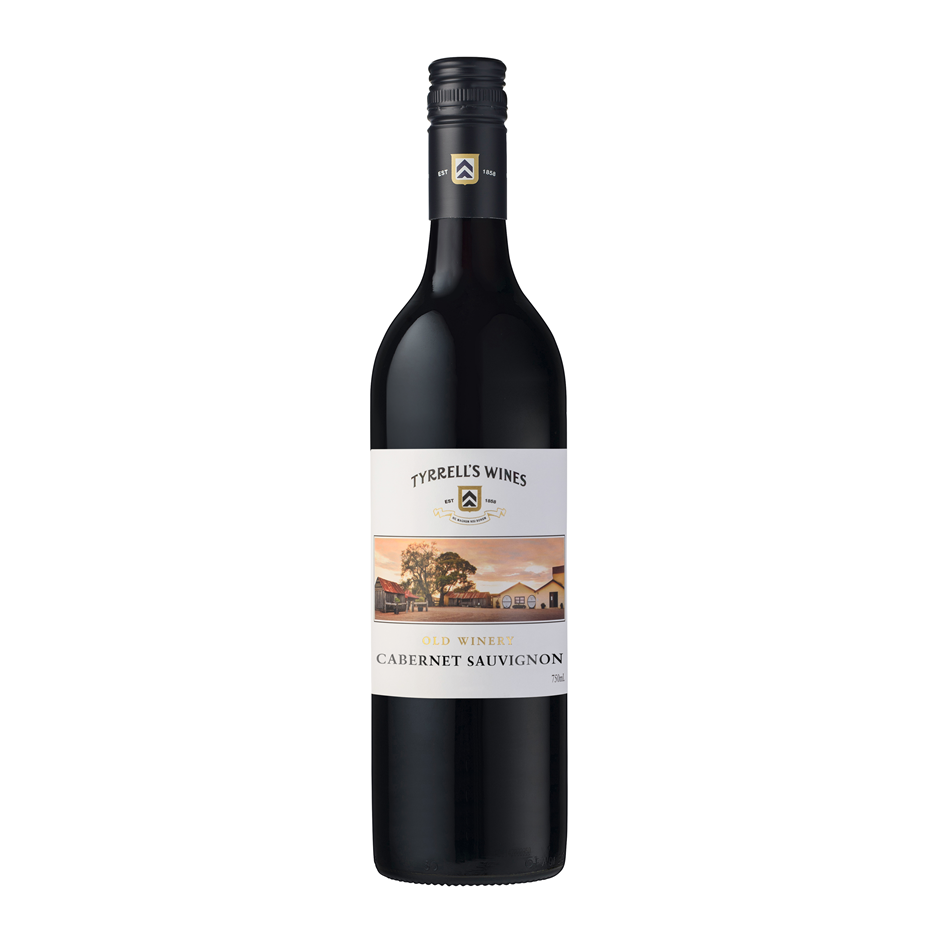 Tyrrells Old Winery Cabernet Sauvignon 2018 (12x 750mL).