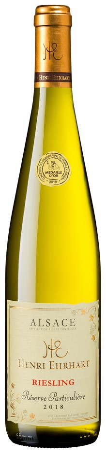 Henri Ehrhart Reserve Particuliere Riesling 2019 (6x 750mL) Alsace AOC