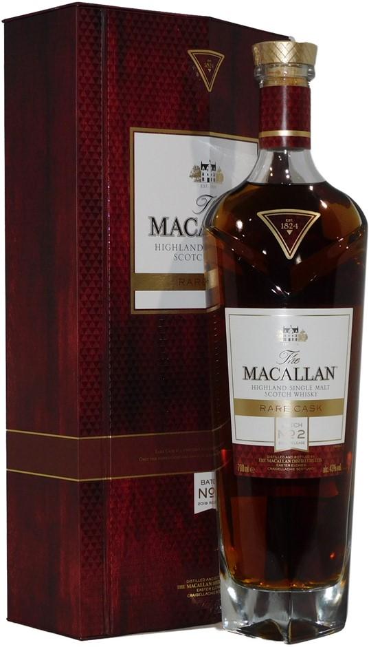 The Macallan Rare Cask Batch No. 2 Single Malt Scotch Whisky (1x 700mL)