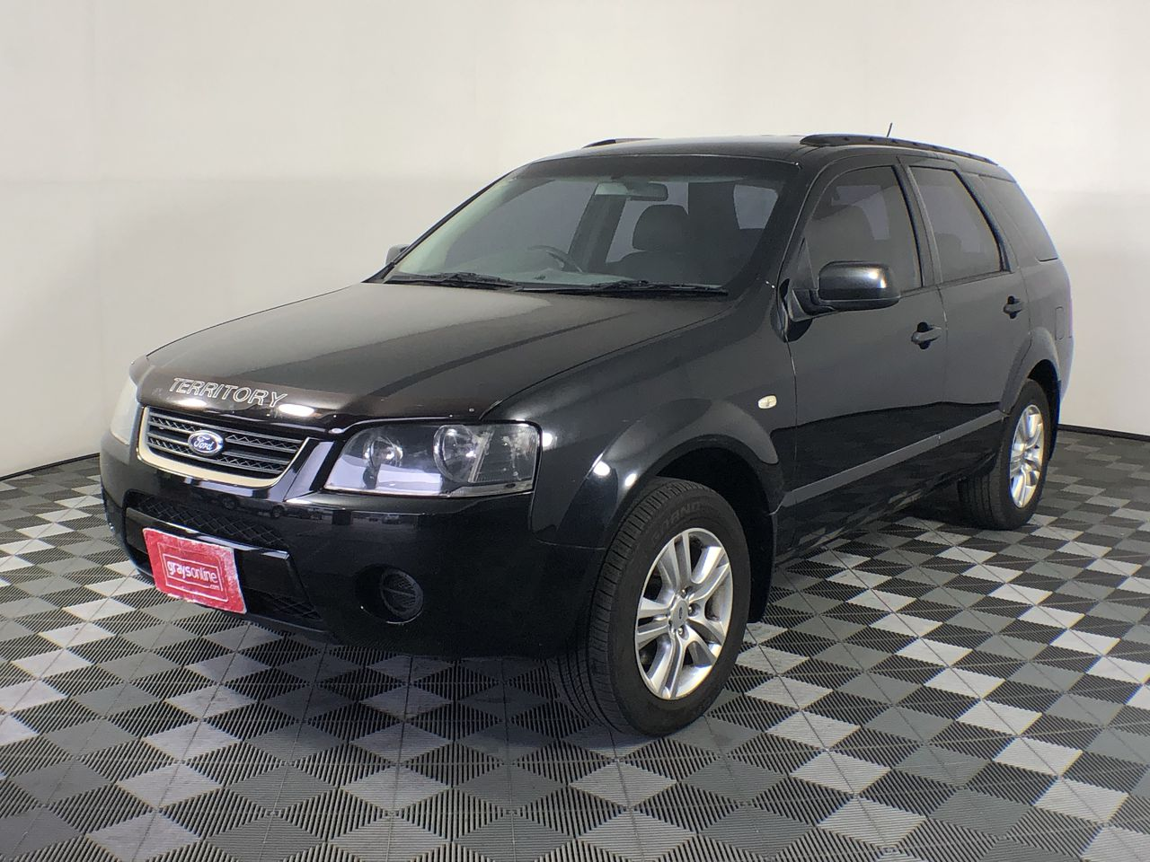 2008 Ford Territory TX SY Automatic 7 Seats Wagon