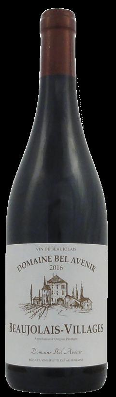 Domain Bel Avenir Beaujolais-Villages Rouge 2016 (6 x 750mL), France AOC