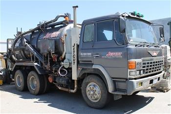 1989 Hino FS600B & Jetcut TCC SVL10-120P Vacuum Truck