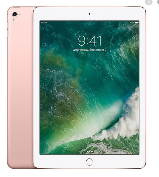 Apple iPad Pro 9.7-inch 256GB WiFi + Cellular (Rose Gold)