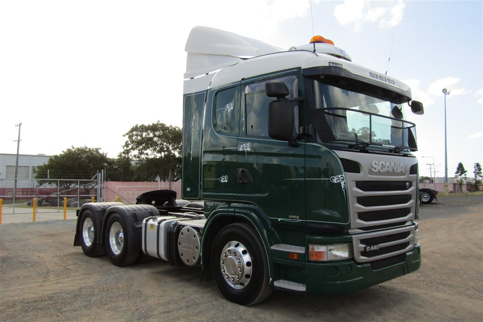 2015 Scania G440 Automatic 6x4 (Ex Corp) Prime Mover Truck