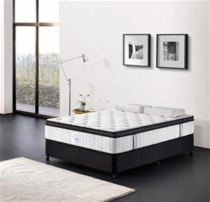 Breeze King Mattress Bed Memory Foam Eur