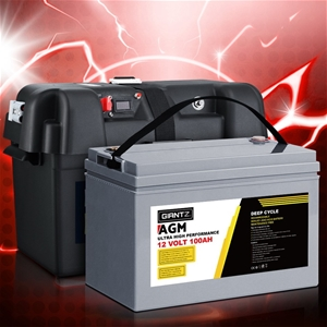 Giantz 100Ah Deep Cycle Battery & Batter