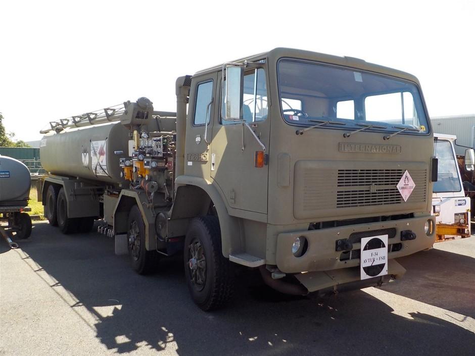 1985 International T2650 8 x 4 Fuel Tanker