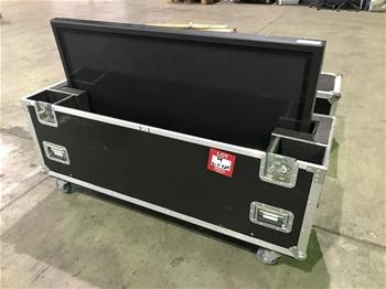 "Panasonic 50"" Plasma TV with Mobile Hard Travel Case"