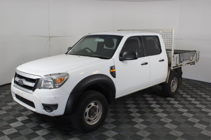 2009 Ford Ranger XL (4x4) PK Turbo Diesel Automatic Crew Cab Chassis