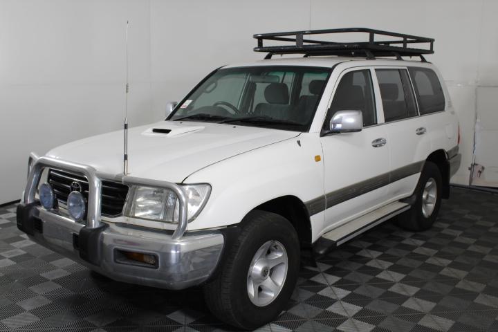 2001 Toyota Landcruiser GXL T/Diesel FZJ105R Auto 8 Seat Wagon