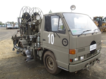 1993 Isuzu NKR58 4 x 2 Cab Chassis Truck