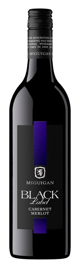McGuigan Black Label Cabernet Merlot 2016 (12 x 750mL) SEA