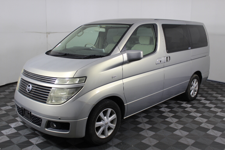 2003 Nissan Elgrand Automatic 8 Seats Van