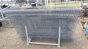 Aero Galvanised Fence Panels