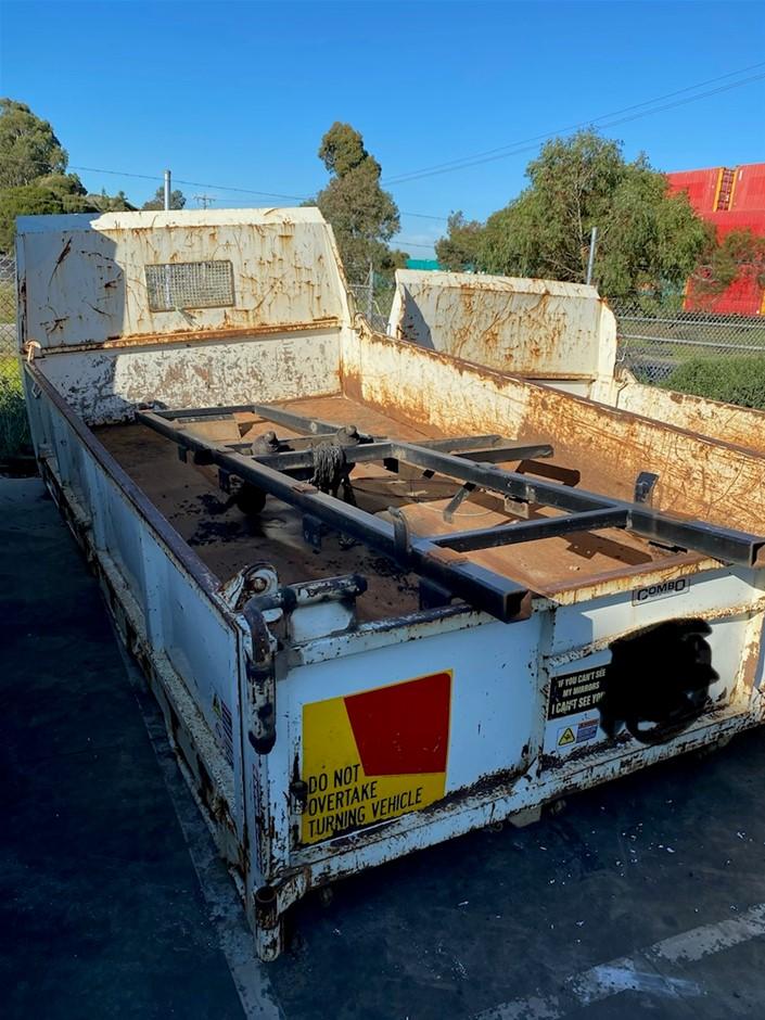 Tipper Truck Body Built by Combo Industries 2450 W x 4500 L x 60 H