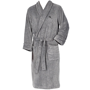 TOMMY BAHAMA Men`s Plush Robe with Pocke