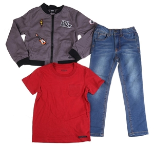 HUDSON Children`s 3pc Set , Size 6, Comp