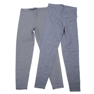 TUFF Girl`s 2pk Stretch Cotton Leggings,