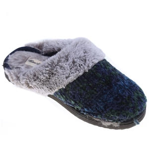 DEARFOAMS Women`s Chenille Clog Slipper,