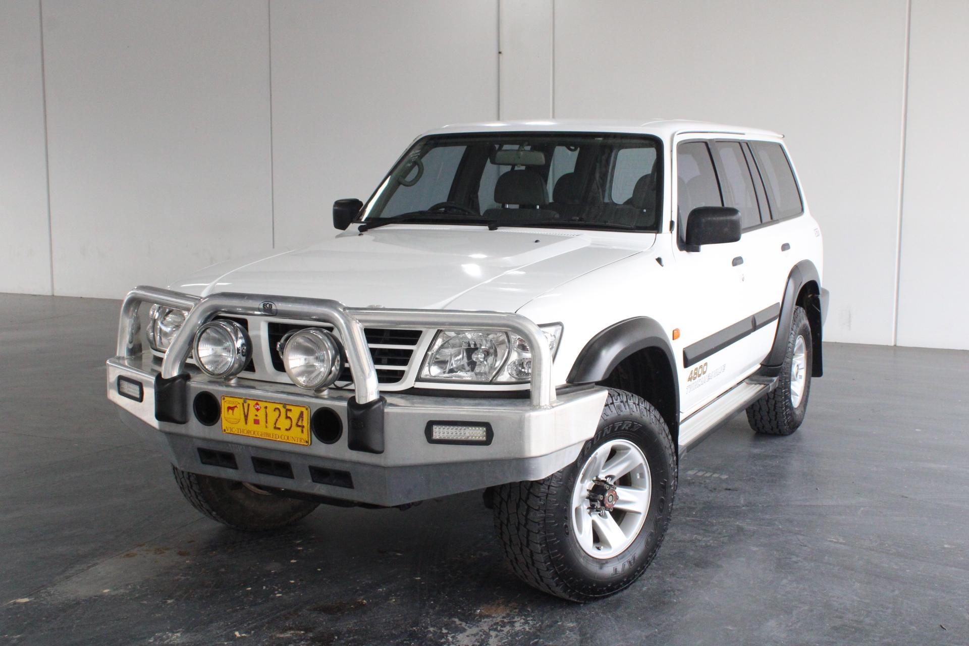 2002 Nissan Patrol ST (4x4) GU II Automatic Wagon