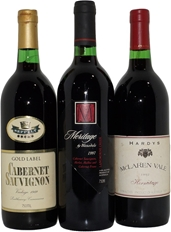Mixed Pack of South Australian Red Wine 1989/1992/1997 (3x 750mL)