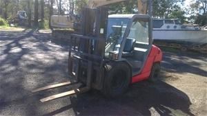 Manitou Rough Terrain Forklift