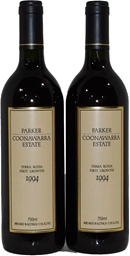 Parker Coonawarra Est Terra Rossa First Growth 1994 (2x 750ml) 5 Star Prov!