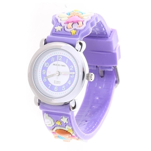 JACQUES FAREL Kids Wrist Watch, Stainles