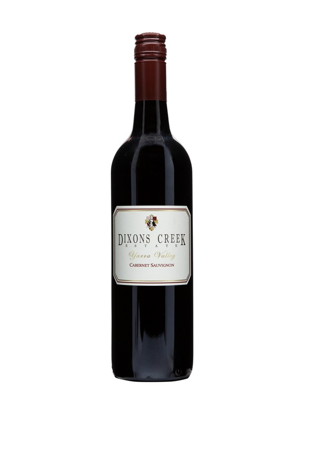 Dixons Creek Estate Cabernet Sauvignon 2015 (12x 750mL), Yarra Valley.