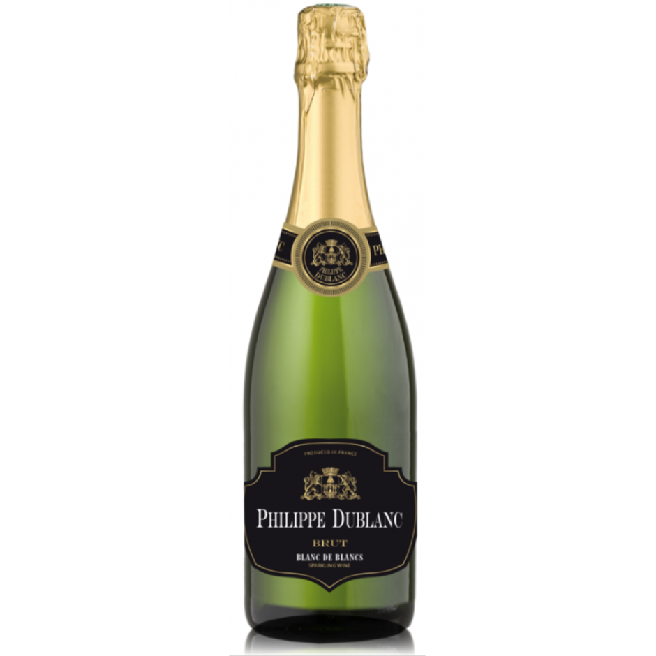 Philippe Du Blanc Brut France NV (12x 750mL), France.