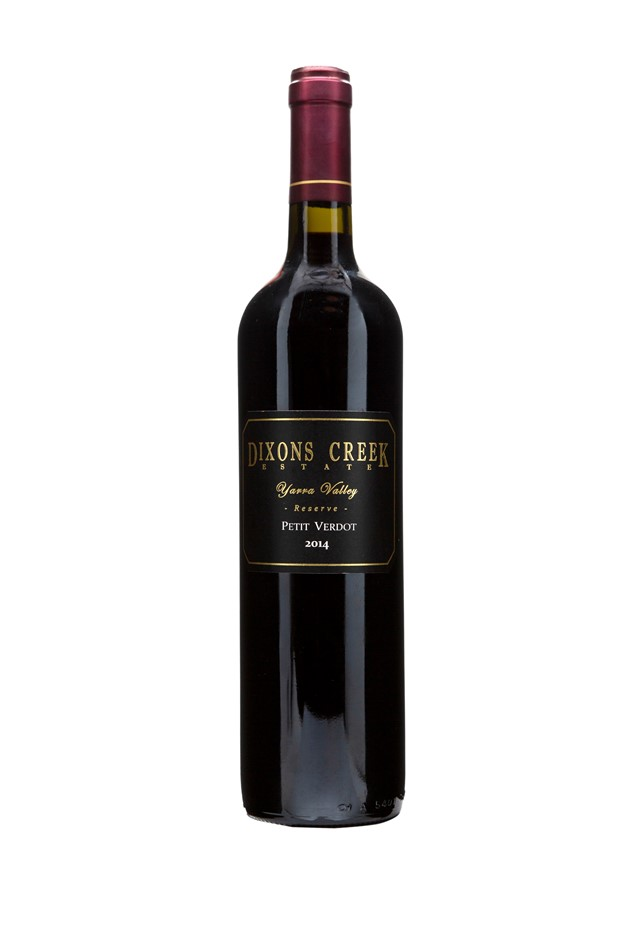 Dixons Creek Estate Petit Verdot 2013 (12x 750mL), Yarra Valley.