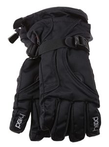 2 x HEAD Junior Ski Gloves, Size M, (Age