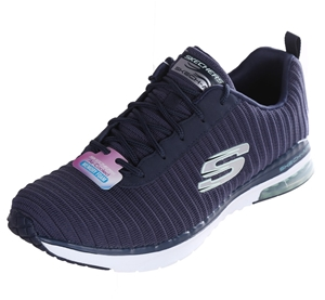 SKECHERS Women`s Air-Cooled Lace-Up Snea