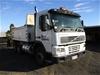 2000 Volvo FM7 6x4 Tipper Truck (White)