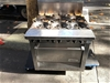 Garland MST43R 6 Burner Gas Cooker with Oven