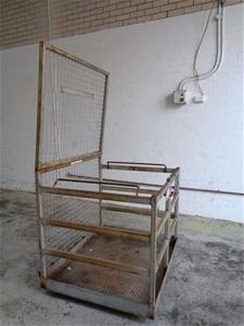 Forklift Man Cage, East West Engineering