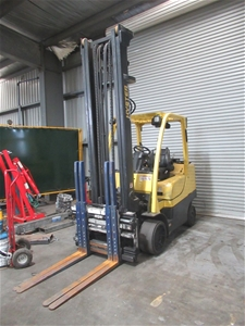 2014 Hyster S80FT 4 Wheel Counterbalance