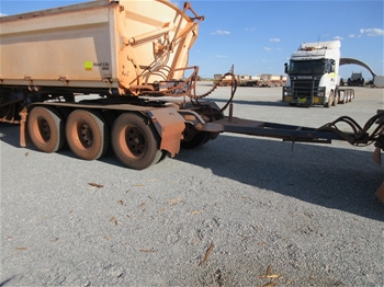 2013 Road West Transport Tri Axle 200 Dolly