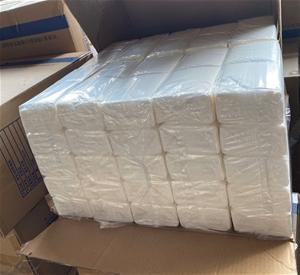 Qty 5 x 100bags x 3ply soft white tissue